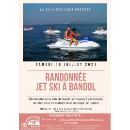 Sortie Jet Ski à 8h30