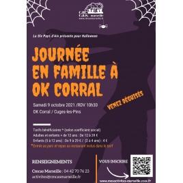 Journée  Famille Halloween  OK CORRAL